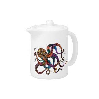 Electric Octopus Teapot