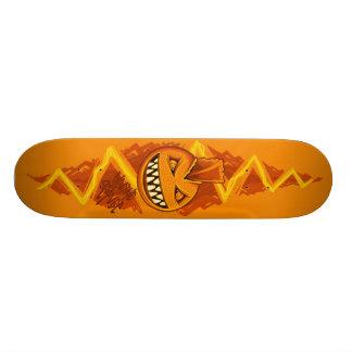 Electric Orange - PUNK Skateboard Deck