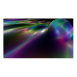 Electric Orb Double-Sided Standard Business Cards (Pack Of 100)