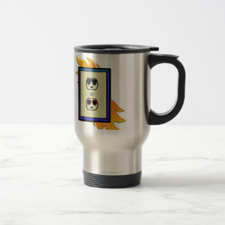 electric oulet 15 oz stainless steel travel mug