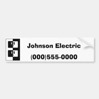 """""""Electric Outlet"""" Bumper Sticker"""