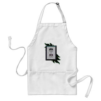 electric outlet co-ed adult apron