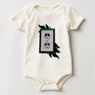 electric outlet co-ed baby bodysuit