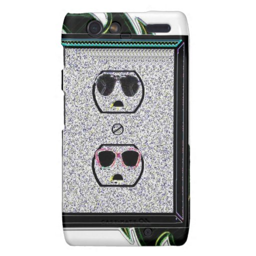 electric outlet co-ed droid RAZR covers