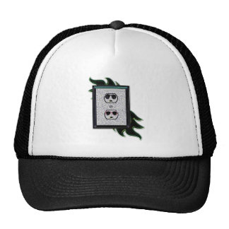 electric outlet co-ed trucker hat