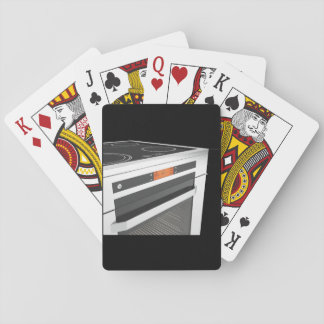 Electric Oven Playing Cards
