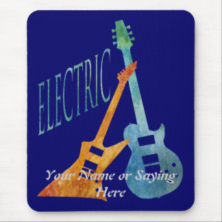 Electric Pair Mouse Pad
