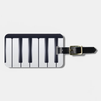 Electric Piano Bag Tag