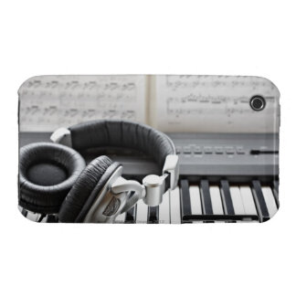 Electric Piano Keyboard Case-Mate iPhone 3 Case