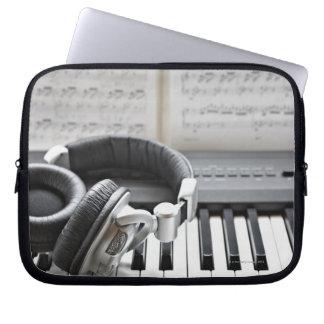 Electric Piano Keyboard Computer Sleeve