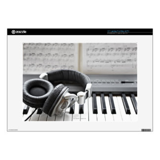 Electric Piano Keyboard Decal For Laptop