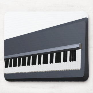 Electric piano keyboard mouse pad