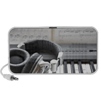 Electric Piano Keyboard Notebook Speakers