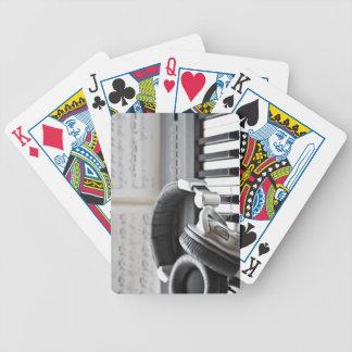 Electric Piano Keyboard Card Deck
