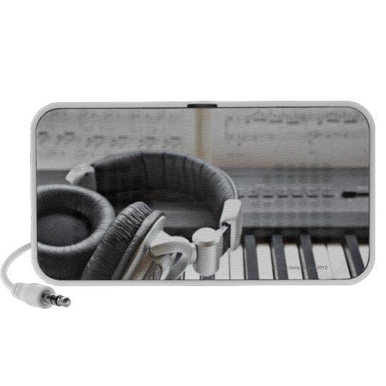 Electric Piano Keyboard Portable Speaker