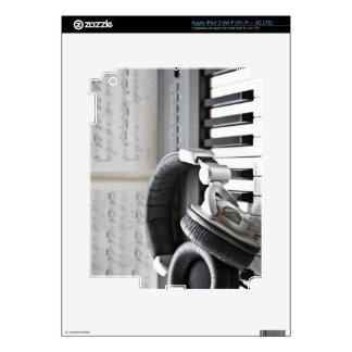 Electric Piano Keyboard Skin For iPad 3