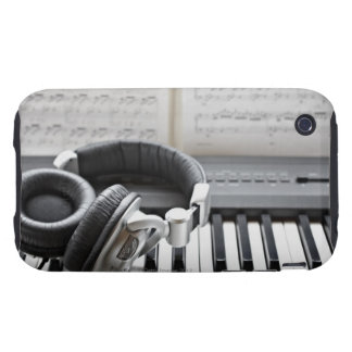 Electric Piano Keyboard Tough iPhone 3 Cover