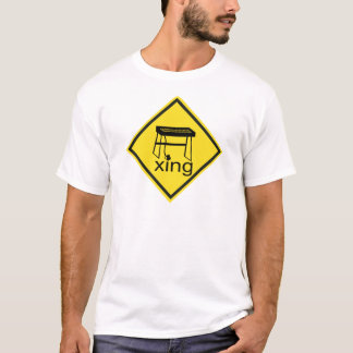 Electric Piano Synthesizer Xing Sign T-Shirt