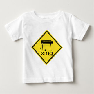 Electric Piano Synthesizer Xing Sign Tee Shirt