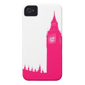 Electric Pink Big Ben Case-Mate iPhone 4 Case