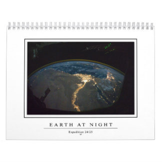 Electric Planet Calendar