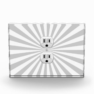 Electric Plug Wall Outlet Fun Customize This! Award