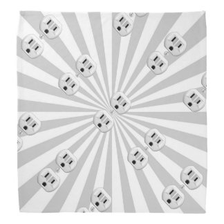 Electric Plug Wall Outlet Fun Customize This! Bandana
