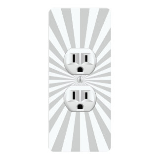 Electric Plug Wall Outlet Fun Customize This! Personalized Invitations