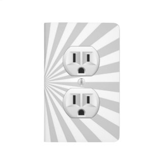 Electric Plug Wall Outlet Fun Customize This! Journal