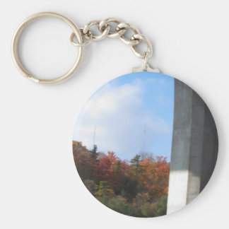 Electric Pole Bridge Skyview Jungle Colorful GIFTS Key Chain