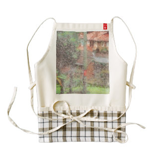 Electric pole zazzle HEART apron