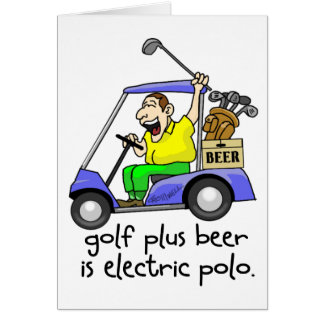 Electric Polo Card