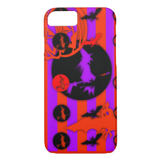 Electric Pop Colors Halloween iPhone case