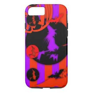 Electric Pop Colors Halloween purple Witch iPhone iPhone 8/7 Case
