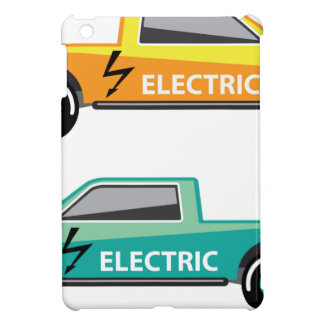 Electric power pickup case for the iPad mini