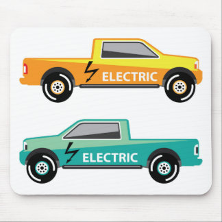 Electric power pickup mouse pad