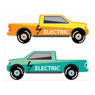 Electric power pickup postcard