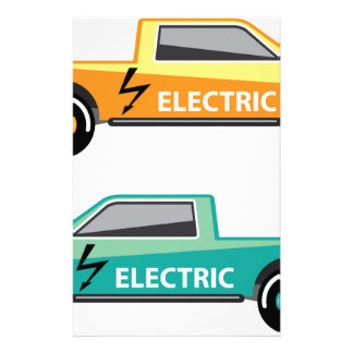 Electric power pickup stationery