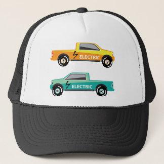 Electric power pickup trucker hat