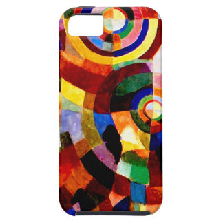 Electric Prisms - Abstract Vintage Art by Delaunay iPhone SE/5/5s Case