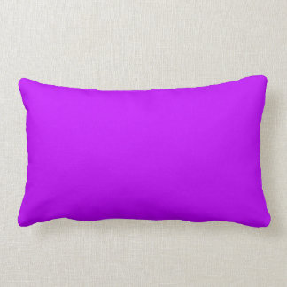 ELECTRIC PURPLE (a solid electrifying color) ~ Throw Pillow