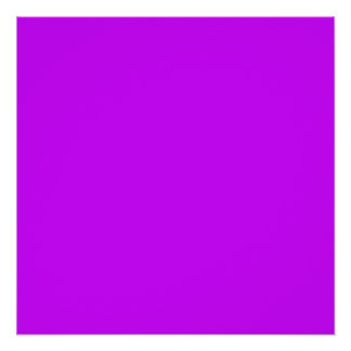 Electric Purple Poster