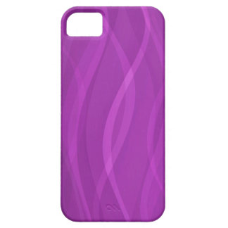 Electric purple ripple abstract iphone 5 case