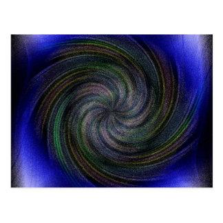 Electric Purple Swirl.jpg Postcard