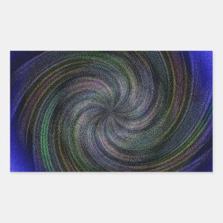 Electric Purple Swirl.jpg Rectangular Sticker