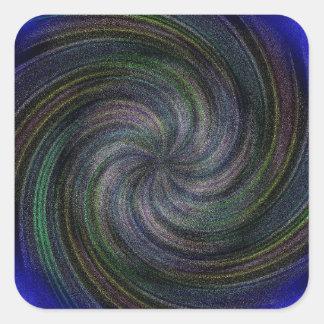 Electric Purple Swirl.jpg Square Sticker