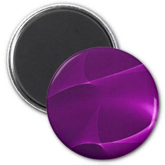 Electric Purple Swirls Magnets