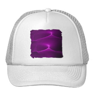 Electric Purple Swirls Trucker Hat