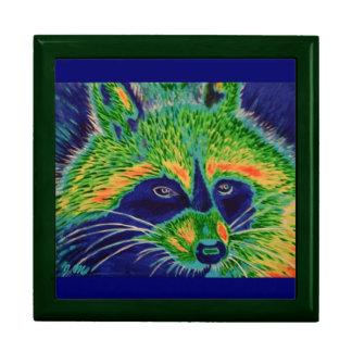 Electric Raccoon Jewelry Box