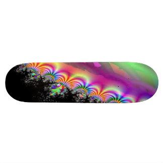 Electric Rainbow Circus Skateboard